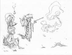 Ben Caldwell - Character Design Page