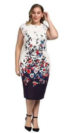 9 plus size floral dresses for formal events Plus Size Dresses, Plus Size Outfits, Curvy Outfits, Fashion Outfits, Girl Outfits, Dresses For Formal Events, Inexpensive Wedding Dresses, Spring Work Outfits, Maxi Dress Wedding