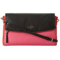 Sales Kate Spade New York - Cobble Hill Carson (Strawberry Froyo/Black) - Bags and Luggage new - Zappos is proud to offer the Kate Spade New York - Cobble Hill Carson (Strawberry Froyo/Black) - Bags and Luggage: Resolve to make your ensemble even more regal with the fab look of the Kate Spade New York Cobble Hill Carson.