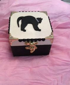 Pet cat memorial box - #rainbow bridge box - #memory bottle / #locket personalise,  View more on the LINK: 	http://www.zeppy.io/product/gb/2/182131418888/