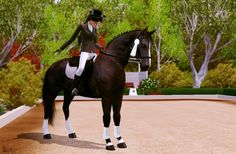 adoreible sims 3 horses | to favourites more like this showing of 3 3 comments