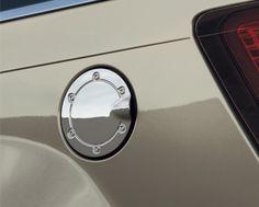 Dodge Nitro Accessory - Mopar OEM Dodge Nitro Chrome Aluminum Fuel Door