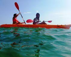 non ci facciamo mancare nulla...anche la canoa !!! www.kitesurftaranto.it