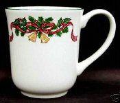 Johnson Brothers  Victorian Christmas Two Mug Set