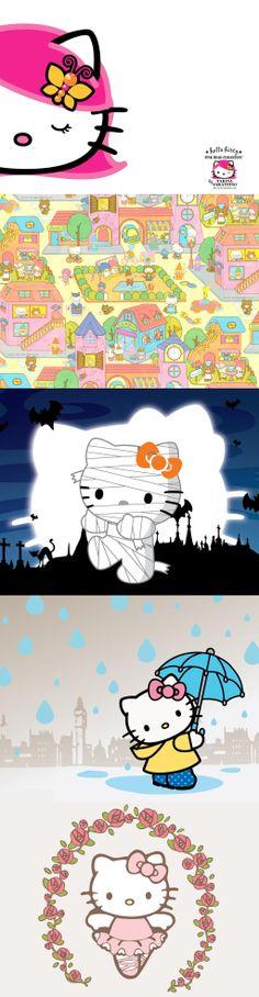 Hello Kitty Rain