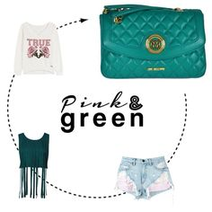 LOVE MOSCHINO! Pink and green lovers! Find more colors at glammy.pt, instagram and facebook ☺️