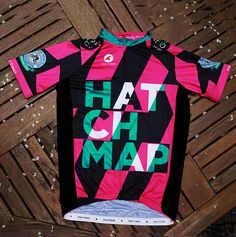 hatchmap cycling kit by #poseursport #alexostroy #cyclingjersey