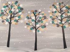 Tall Winter Trees