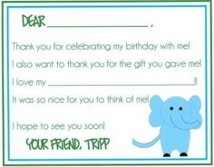 Thank You cards fill in the blank by punctuationstation on Etsy, $0.75