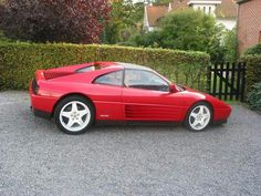 Ferrari 348, Red Heads, Manual Transmission, Exotic, Cars, Vintage, Design, Sweet Cars, Autos