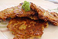 Sajtos-zöldséges tócsni Meatloaf, Healthy Recipes, Healthy Food, Food And Drink, Beef, Chicken, Healthy Foods, Meat, Healthy Eating Recipes