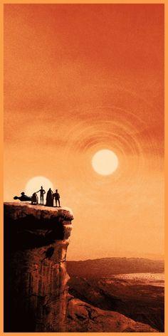 "Matt Ferguson's Star Wars ""Trilogy"" Prints"