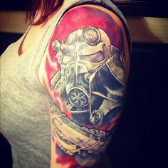 I'm actually pretty crazy about this Fallout 3 tattoo