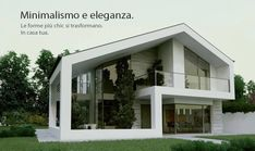 Ville E Villette Moderne Progetti E Schizzi with regard to Progetti Ville Moderne by angga Modern House Plans, Modern House Design, Building A Container Home, Modern Architects, Modern Farmhouse Exterior, Villa Design, Exterior Design, Future House, Architecture Design