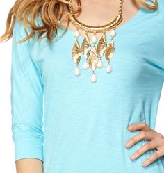 Lilly Pulitzer She Shells Necklace