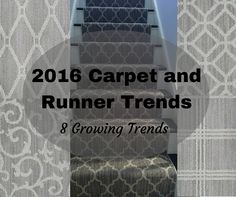 2019 Carpet Runner And Area Rug Trends