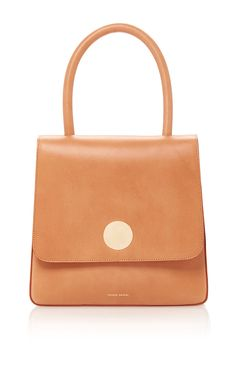 MANSUR GAVRIEL Vegetable Tanned Posternak Bag. #mansurgavriel #bags #leather #hand bags #canvas #lining #