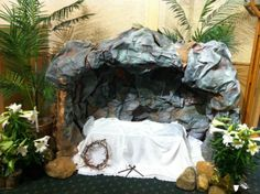 easter church decorations | Church Easter Decoration - Dekoracja wielkanocna kosciola