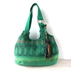 kantha bag kantha quilt bag indian bag shoulder bag by fairlyworn