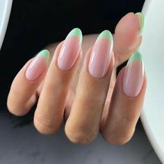 Classy Nails, Stylish Nails, Trendy Nails, Cute Simple Nails, Colored French Nails, French Tip Nails, French Manicures, Short French Nails, French Tips