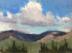 Reworked the composition and edges of Cloud Shadows Paradise UT. Originally a plein air painting Im taking this studio time to practice edges as seen of this rework. Cant wait to take this knowledge back into nature soon. Merry Christmas to all! Merry Christmas To All, Cant Wait, Shadows, Beautiful Places, Composition, Paradise, Knowledge, Clouds, Paintings