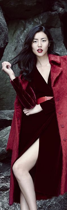 Chris Nicholls recent, advertising, holts, holt renfrew, women's wear, liu wen
