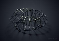 3D Math Art II by B Schauer, via 500px