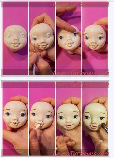 Girl face 6