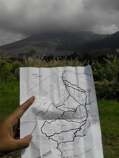 Peta Gunung Guntur