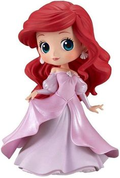 Disney Characters figure from Banpresto! Base Stand included Ariel Princess Dress- (Ver.B) Item Package Weight: 2.0 pounds #disney #redhair #ariel #princess #pink #pinkdress #gift #gifts #toy #toys #nice #redhair #mermaid #littlemermaid