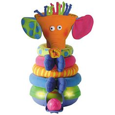 tiny Love Musical Stack and Play A 2-in-1 electronic stacking toy and ball game with numerous play possibilities, stimulating your babys creativity. Use as a simple sorting and stacking toy or as an electronic game, where baby d http://www.comparestoreprices.co.uk/baby-toys/tiny-love-musical-stack-and-play.asp