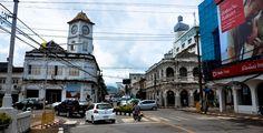 Таиландский город Пхукет Street View
