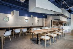 Paras Cafe in Shanghai is inspired by the Mediterranean Sea | Inspirationist