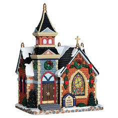 LIC LIMITED LIC LIMITED Christmas Village Building, Holy Trinity Chapel