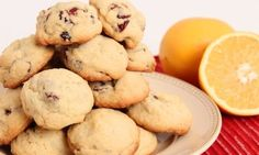 Cranberry Orange Cookies Recipe