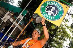 Starbucks processa cafeteria tailandesa Starbung por logo semelhante, veja aqui http://www.bluebus.com.br/starbucks-processa-cafeteria-tailandesa-starbung-semelhante/