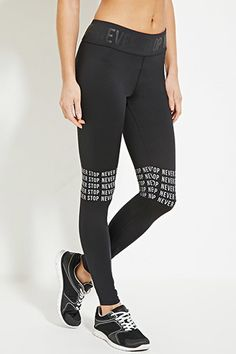 Active Never Stop Leggings | Forever 21 - 2000182787