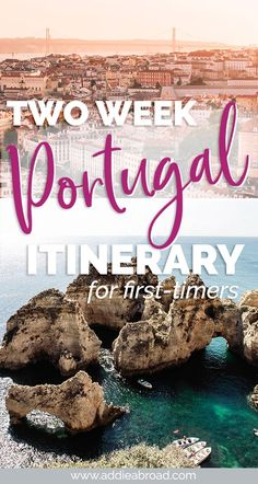 Two weeks is the perfect amount of time to get a taste for everything Portugal has to offer. Visit Porto, Aveiro, Obidos, Lisbon, and Lagos in this 2 week Portugal Itinerary. portugal 2 Weeks in Portugal // The Complete Itinerary Road Trip Portugal, Best Places In Portugal, Portugal Vacation, Portugal Travel Guide, Europe Travel Guide, Travel Guides, 2 Week Europe Itinerary, Backpacking Europe, France Travel