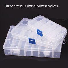 Lot de 20 silos pièces en plastique Box-empilable ou suspendus excellente qualité