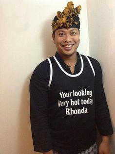 Famous Names Rhonda and Ketut