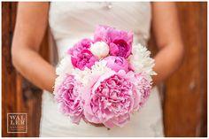 Gotta love this fuchsia themed bouquet!