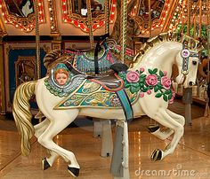 Carousel Horse by Karla, via Dreamstime