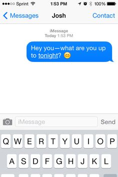 Flirty Text Messages To Send A Guy