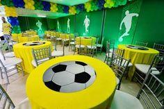 Resultado de imagem para ideias para festa tema futebol