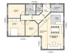 Yeni Moda Tek katlı ev planları plan örnekleri Ev