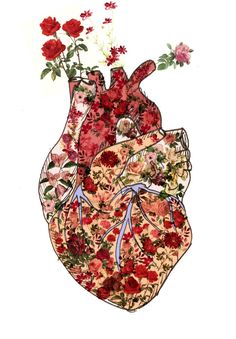 Corazón florecido/ Mara Parra