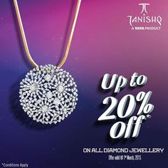Nothing is more beautiful than your smile and the shimmering diamond.Experience the bliss by wearing #Tanishq's first-class hive pendant with sparkling #diamond.  Shop Now: http://goo.gl/dl2J8f