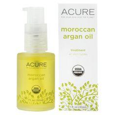 Acure Organics Argan Oil 100% USDA Organic Moroccan - 1 oz
