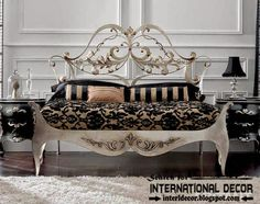 Stylish Italian wrought iron beds and headboards 2015 | Home Decorating