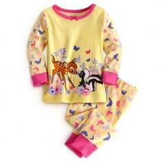 Flower and Bambi PJ Pal
